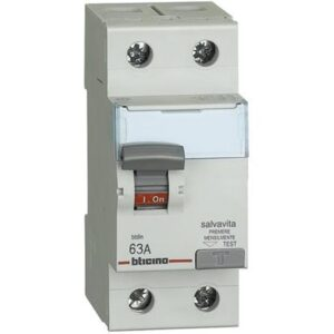 Interruttore differenziale SALVAVITA 2P - BTICINO LEGRAND G723AC63