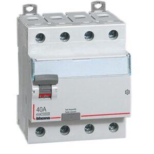 Interruttore differenziale SALVAVITA 4P tipo AC - BTICINO LEGRAND G745AC40