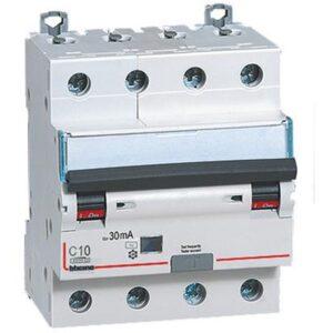 interruttore magnetotermico differenziale SALVAVITA 4P - BTICINO LEGRAND GA8843AC10