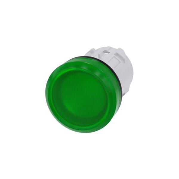 Pulsante Luminoso Verde - COD. HERD184492