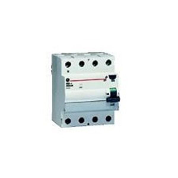 Interruttore differenziale FP A 4P 25 A 300 mA General Electric 604098 - COD. HERD604098