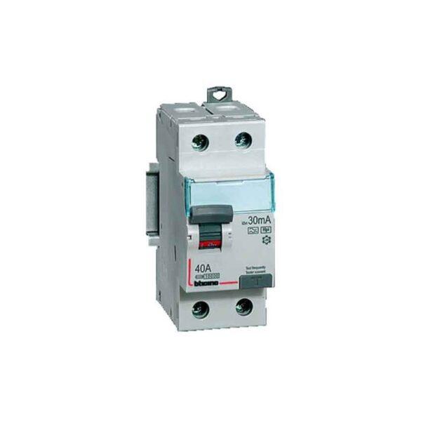 Interruttore Magnetotermico Differenziale 2P - tipo AC 25A 500mA - COD. HERD604156