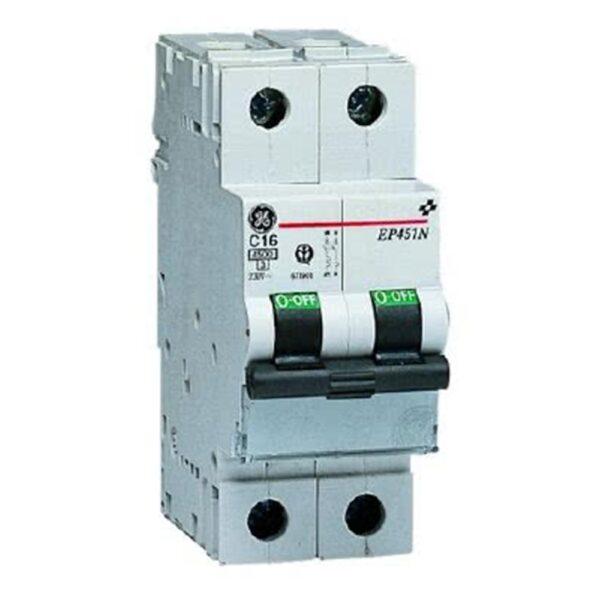 Interruttore Magnetotermico 2 Poli 10A 2 Moduli - COD. HERD671915