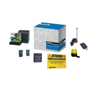 Kit con Centrale di Comando PCM100 per Motore Scorrevole + Accessori - HILTRON KPCM100