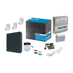 Kit con Centrale XMA4000 + Consolle XM22PX + Accessori - HILTRON KXMA4000