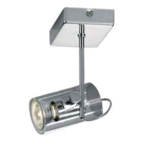 Faretto Spot da Soffitto in Metallo con Riflettore in Vetro Trasparente GU10 50W - PAI PFB760