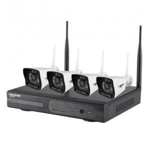 Kit TVCC IP Wi-Fi 4 Canali - HILTRON THK04IPR