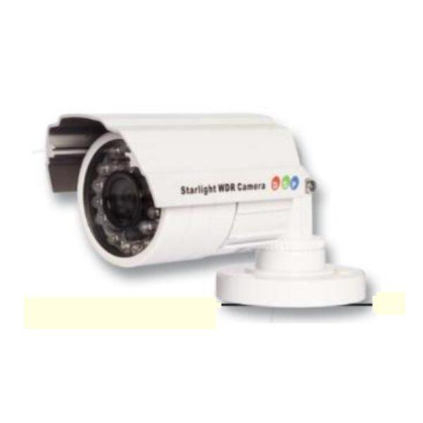Telecamera Stagna tipo Bullet da 3.6mm 700 TVL con 24 IR incorporato - CIA TRADING TVCH9303