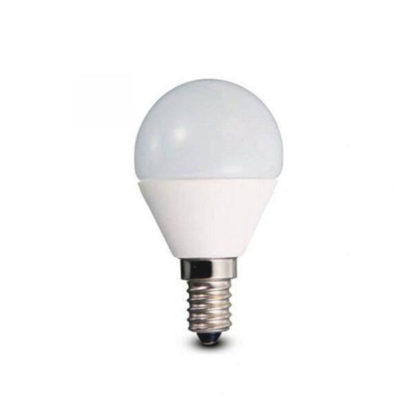 Lampadina LED E14 Sfera 2800K Opale - LA FILOMETALLICA MEGAMAN 030594