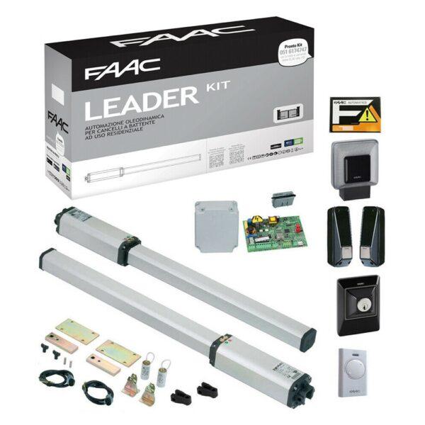 Leader Kit Automatismo Cancello Battente 230V - FAAC 10563344