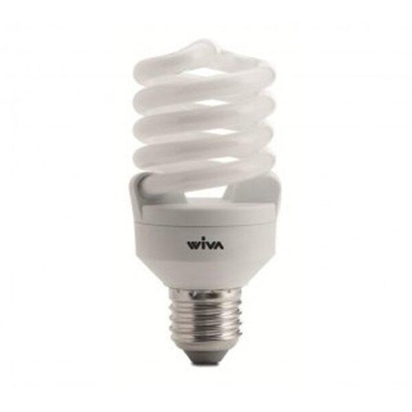Lampadina a risparmio energetico 4000K 23W E27 - WIVA GROUP SPA 11070222