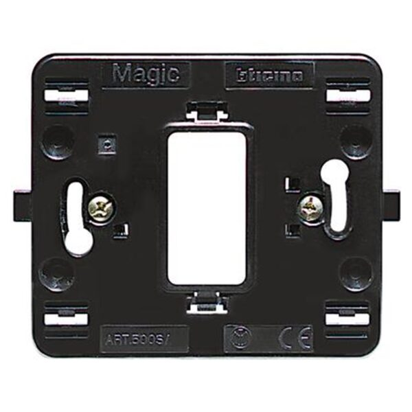 Supporto 1 Posto Scatola Tonda Magic - BTICINO LEGRAND 500S/1