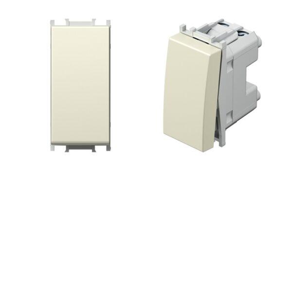 Invertitore 16AX 250V 1 Modulo Avorio - SCAME SPA UNIVEL 8329/A