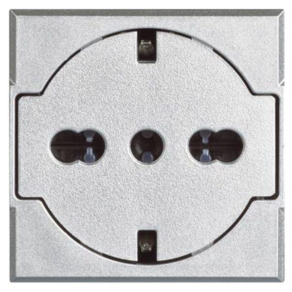 Presa FLAT standard tedesco e italiano Axolute - BTICINO LEGRAND HC4140/16F