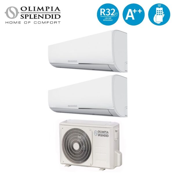 Climatizzatore NEXYA S4 e Dual Inverter 1400 - OLIMPIA SPENDID SPA OS-CEMYH14EI