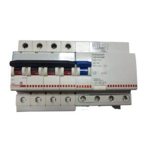 MAGNMAGNETOTERMICO DIFFERENZIALE 4P 50A - BTICINO LEGRAND G843/50 - BTICINO LEGRAND G843/50