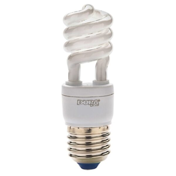 Lampada Mini Twist ECO 10000h 7W 827 E27 - DURALAMP 07527