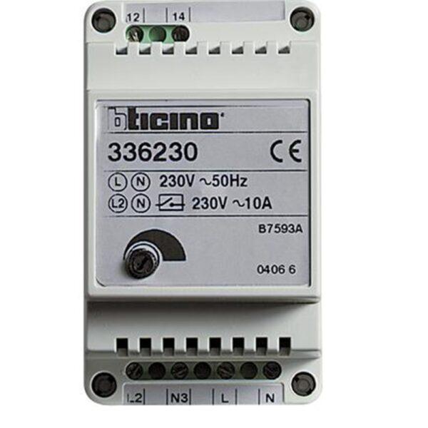 Relè temporizzatore luci scale - BTICINO LEGRAND 336230