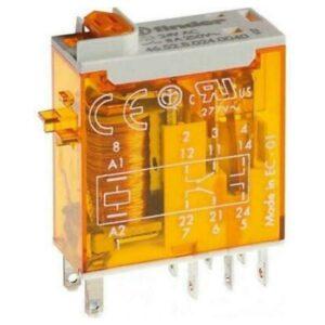 Mini Relé Industriale 2 Contatti 8 A - FIN 465280120040