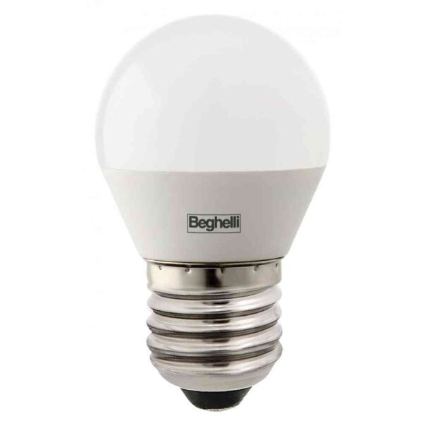Lampada Sfera LED 5W E27 6500K - BEGHELLI 56992