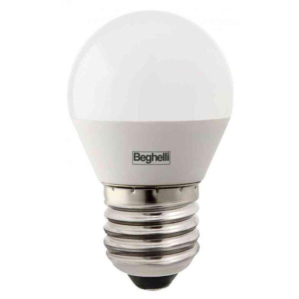 Lampada Sfera LED 3.5W E27 3000K - BEGHELLI 56964