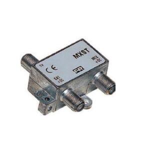 Miscelatore da Interno TV-Sat Fracarro MXST con Connettori F - FRA 226400