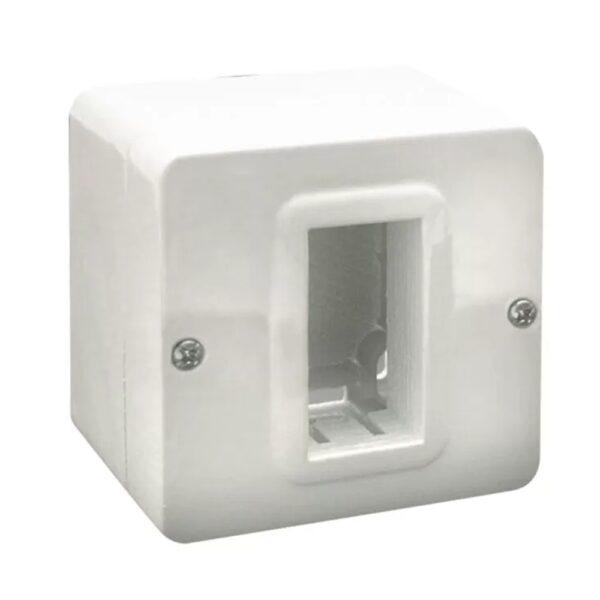 Contenitore autoportante minicanali IP40 S44 1 Modulo Bianco - AVE SPA 44QC01