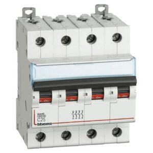 Interruttore Magnetotermico 4P Curva C 4..5KA - BTICINO LEGRAND FA84C25